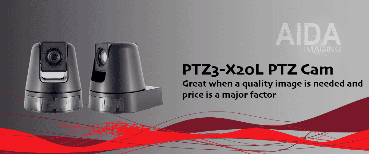 AIDA-PTZ3-X20L PTZ Cam