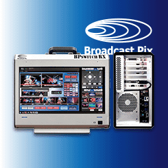 BPswitch RX Mobile Integrated Production Switcher