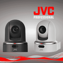 <b>JVC KY-PZ100 Robotic Pan, Tilt, Zoom Camera</b>