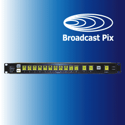Broadcast Pix Remote Panel Expanded Control