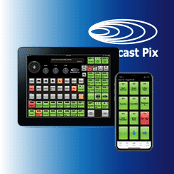 Broadcast Pix iPixPanel and iPixPad