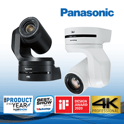 <b>Panasonic AW-UE150 4K PTZ Camera</b>