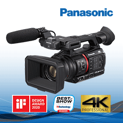 <b>Panasonic AG-CX350 4K Handheld Camera</b>