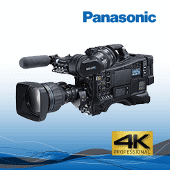 <b>Panasonic AG-CX4000 4K HDR ENG Shoulder-Mount Camera</b>
