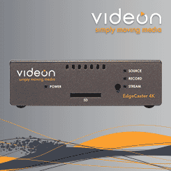 <b>Videon EdgeCaster Ultra Low Latency 4K Video Encoder</b>