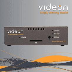 Videon VersaStreamer 4K Encoder/Decoder