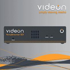 Videon VersaStreamer SDI Encoder/Decoder