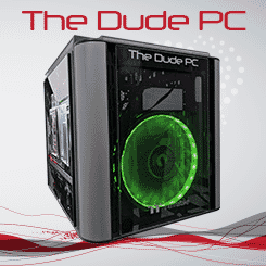 The Dude PC Green