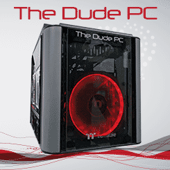 The Dude PC Red