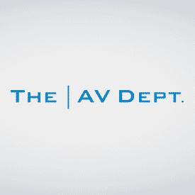 <b>The AV Department</b>