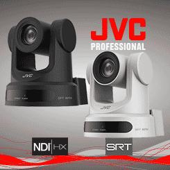 <b>JVC KY-PZ200N Professional PTZ Camera with SRT & NDI | HX</b>