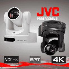 <b>JVC KY-PZ400N Professional 4K PTZ Camera with SRT</b>